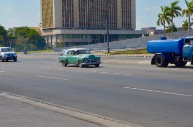 Green Classic Car