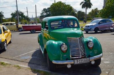 Green Classic Car 2
