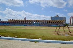 View from the Bus - Parque José Martí Stadium