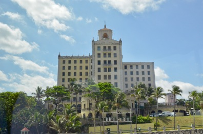 View from the Bus - Hotel Nacional (side view)