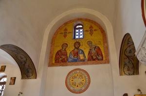 Basilica Menor de San Francisco di Assisi mosaic