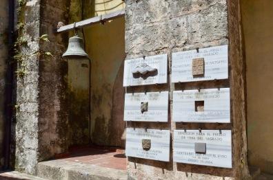 Convento de San Francisco bell