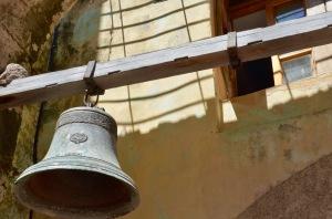 Convento de San Francisco bell closeup