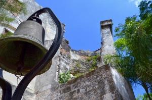 Convento de San Francisco bell-wall
