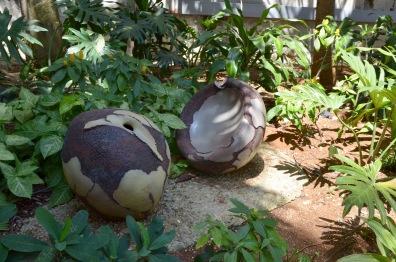 Jardin Teresa de Calcutta smushed gourd
