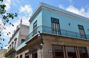 Cuban Architecture - blue