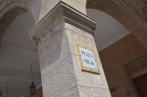 Plaza Vieja sign