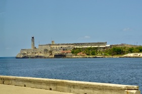 Fort across the Malecon