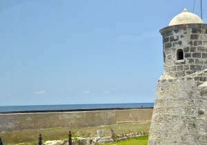 Fort tower near the Malecon