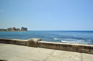 Malecon view from the bus