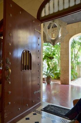 Lorenzo's front door