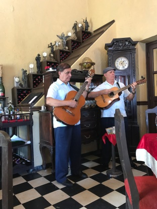 Musicians at Lunch