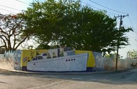 Fuster Mosaic Boat