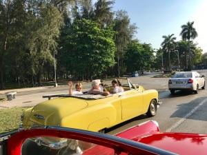 Classic Car Yellow 3