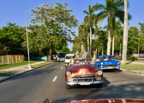 Classic Car on the Road