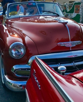 Classic Car Fender-Grill