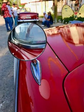 Classic Car Side Mirror