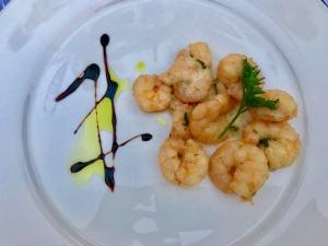 Habanera's Garlic Shrimp