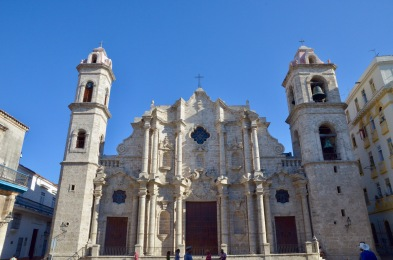 Havana Cathedral exterior