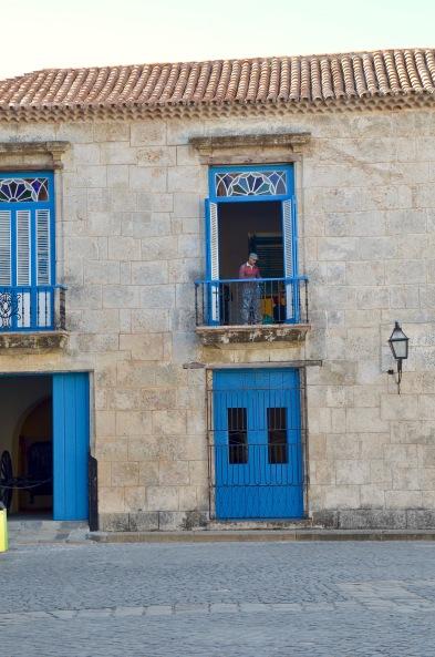 Havana blue building