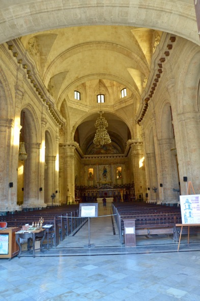 Havana Cathedral interiror