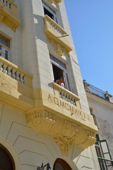 Havana, Man in Window