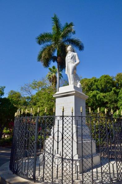 Carlos Manuel de Cespedes statue