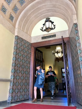 Hotel Nacional entrance