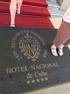 Hotel Nacional door mat