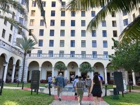 Hotel Nacional courtyard