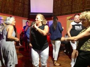 "Proyecto Cultural Lucecita"" dancing"