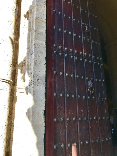 Havana Cathedral door