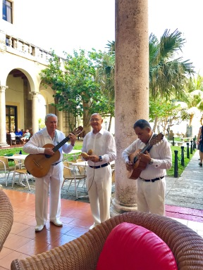 Hotel Nacional musicians