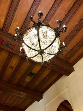 Hotel Nacional chandelier