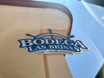 Bodegas 1 sign