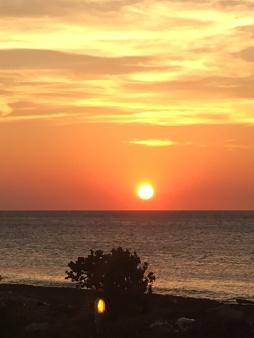 Sunset at Playita del Triton 0